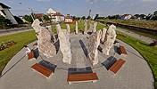 Stonehenge Timişoara, pole pano