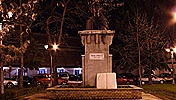 The statue of Mihai Eminescu, Timişoara