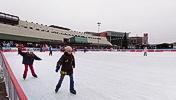 On ice, Timişoara